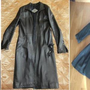 Как подготовить пиджак, куртку или плащ из натуральной кожи к работе