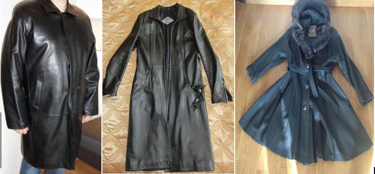 Из кожаного плаща сшить куртку 26