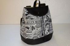 Принтовая ткань для сумок или 90-60-90 Мерлин Монро!