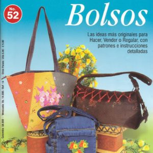 Журнал Creando Ideas Bolsos №52