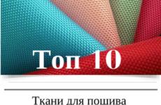 Топ 10 тканей для пошива дорожных сумок