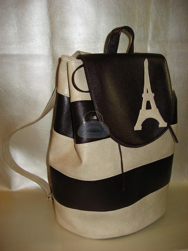 7c099fa85b3c Как сшить рюкзак своими руками из полосок