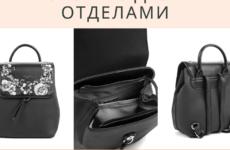 Новая выкройка рюкзака, без шнурка, люверсов, с двумя отделами + описание пошива. Конкурс и акция.