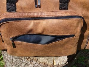 накладной карман в дорожной сумке